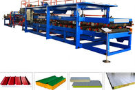 0.7mm EPS Roof Sheet Sandwich Panel Roll Forming Machine Line