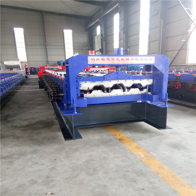 20.5KW Fully Automatic Floor Deck Roll Forming Machine