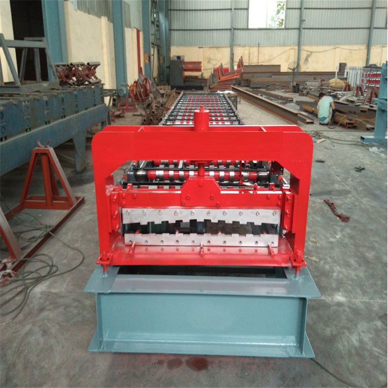 Corrugated Roof Sheet Making 12m/Min Door Shutter Roll Forming Machine